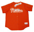 BILLY WAGNER Philadelphia Phillies 2005 Majestic Authentic Throwback Baseball Jersey - Front