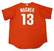 BILLY WAGNER Philadelphia Phillies 2005 Majestic Authentic Throwback Baseball Jersey - Back