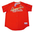 YADIER MOLINA St. Louis Cardinals 2006 Majestic Authentic Throwback Baseball Jersey - Front