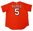 ALBERT PUJOLS St. Louis Cardinals 2006 Majestic Authentic Throwback Baseball Jersey - Back