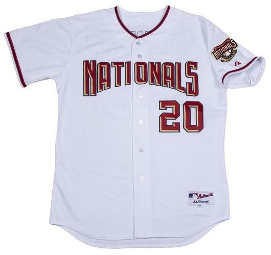 8ff5bf667 FRANK ROBINSON Washington Nationals 2005 Majestic Authentic Home Jersey - Custom  Throwback Jerseys