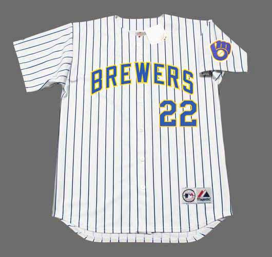 finest selection 35b68 a5fc3 CHRISTIAN YELICH Milwaukee Brewers Majestic Alternate Home Baseball Jersey