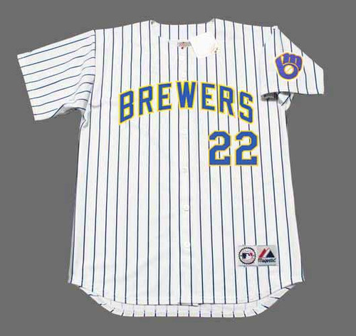CHRISTIAN YELICH Milwaukee Brewers Majestic Alternate Home Baseball Jersey - FRONT