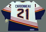GUY CARBONNEAU St. Louis Blues 1994 CCM Vintage Home NHL Hockey Jersey