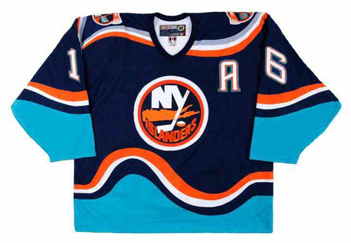 ZIGMUND PALFFY New York Islanders 1997 CCM Throwback NHL Hockey Jersey - FRONT