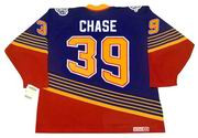 KELLY CHASE St. Louis Blues 1997 Away CCM NHL Vintage Throwback Jersey