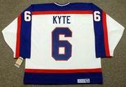 JIM KYTE Winnipeg Jets 1986 Home CCM NHL Vintage Throwback Jersey
