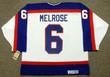 BARRY MELROSE Winnipeg Jets 1979 Home CCM NHL Vintage Throwback Jersey - BACK