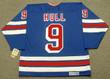 BOBBY HULL New York Rangers 1981 Away CCM NHL Vintage Throwback Jersey - BACK