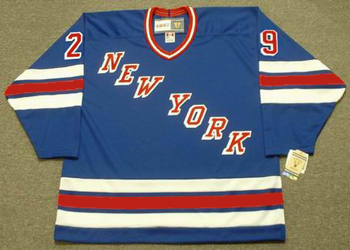 huge selection of 26cc1 633fc REIJO RUOTSALAINEN New York Rangers 1984 Away CCM NHL Vintage Throwback  Jersey