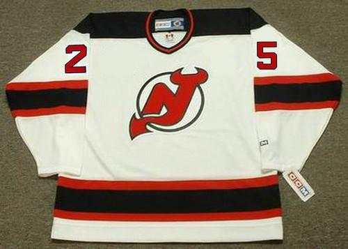 JASON ARNOTT New Jersey Devils 1998 Home CCM NHL Vintage Throwback Jersey - FRONT