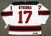 PETR SYKORA New Jersey Devils 1998 Home CCM NHL Vintage Throwback Jersey - BACK