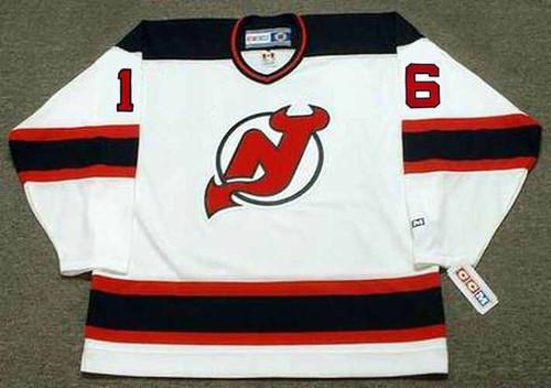 BOBBY HOLIK New Jersey Devils 1998 Home CCM NHL Vintage Throwback Jersey - FRONT