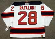 BRIAN RAFALSKI New Jersey Devils 2003 Home CCM NHL Vintage Throwback Jersey