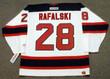 BRIAN RAFALSKI New Jersey Devils 2003 Home CCM NHL Vintage Throwback Jersey - BACK