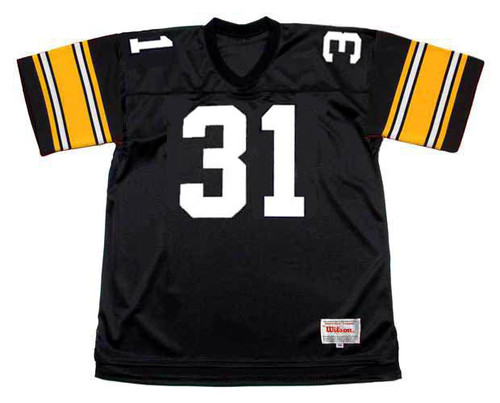 DONNIE SHELL Pittsburgh Steelers 1979 Throwback Home NFL Football Jersey - FRONT
