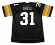 DONNIE SHELL Pittsburgh Steelers 1979 Throwback Home NFL Football Jersey - BACK