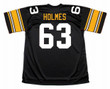 ERNIE HOLMES Pittsburgh Steelers 1974 NFL Football Throwback Jersey - BACK