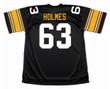 ERNIE HOLMES Pittsburgh Steelers 1974 NFL Football Throwback Jersey - BACK