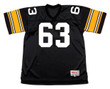 ERNIE HOLMES Pittsburgh Steelers 1974 NFL Football Throwback Jersey - FRONT