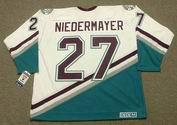 SCOTT NIEDERMAYER Anaheim Mighty Ducks 2006 Away CCM NHL Vintage Throwback Jersey - BACK