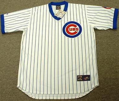 Andre Dawson 1989 Chicago Cubs Majestic MLB Throwback Home Jersey - FRONT