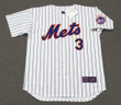 BUD HARRELSON New York Mets 1969 Home Majestic Baseball Throwback Jersey - FRONT