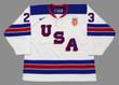 BROCK BOESER 2016 USA Nike Throwback Hockey Jersey - FRONT