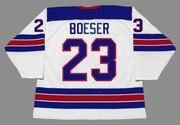 BROCK BOESER 2016 USA Nike Throwback Hockey Jersey - BACK