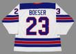 BROCK BOESER 2016 USA Nike Throwback Hockey Jersey - BACK