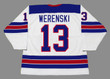 ZACH WERENSKI 2016 USA Nike Throwback Hockey Jersey - BACK