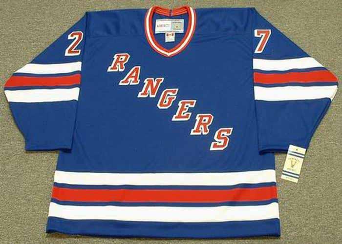 f1dd363afef ALEX KOVALEV New York Rangers 1995 CCM Vintage Throwback NHL Hockey Jersey  - BACK. See 3 more pictures
