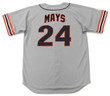 WILLIE MAYS San Francisco Giants 1980's Away Majestic Baseball Throwback Jersey - BACK