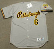 ORLANDO MERCED Pittsburgh Pirates 1992 Majestic Throwback Away Baseball Jersey - FRONT