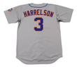 BUD HARRELSON New York Mets 1973 Away Majestic Baseball Throwback Jersey - BACK