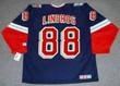ERIC LINDROS New York Rangers 2001 CCM Throwback Alternate NHL Jersey - BACK