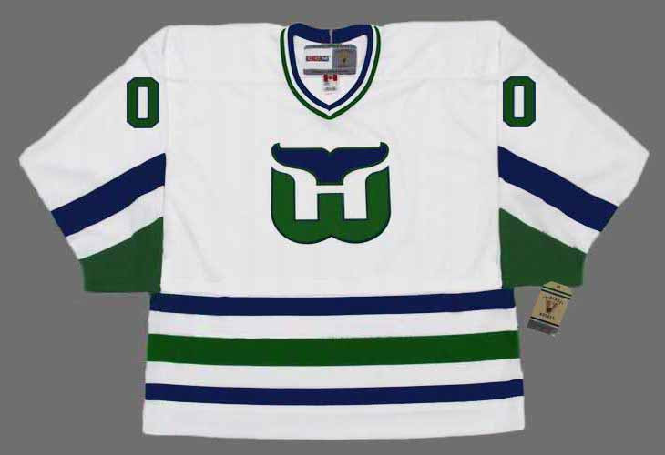 HARTFORD WHALERS 1980 s Home CCM Customized Throwback Jersey - BACK. See 3  more pictures b7c0eab6f77