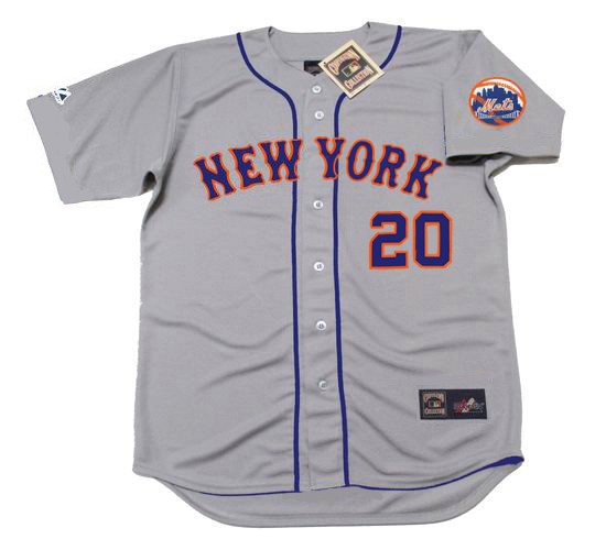 premium selection 94f7a 0426a TOMMIE AGEE New York Mets 1969 Away Majestic Baseball Throwback Jersey