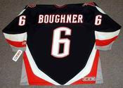 BOB BOUGHNER 1996 CCM Away Buffalo Sabres Jersey - BACK