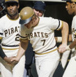 BOB ROBERTSON Pittsburgh Pirates 1971 Home Majestic Baseball Throwback Jersey - ACTION
