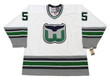 1996 Home CCM KEITH PRIMEAU Hartford Whalers Hockey Jersey - FRONT