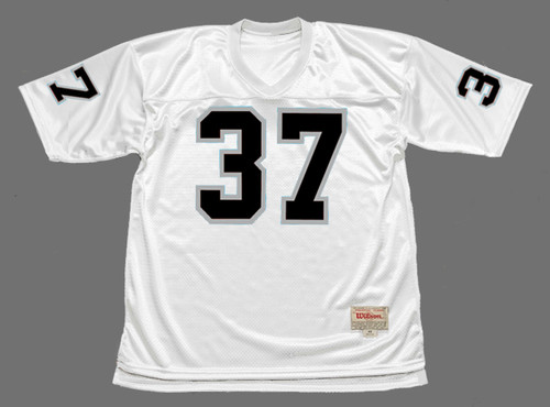 LESTER HAYES Oakland Raiders 1978 Away Throwback NFL Football Jersey - FRONT