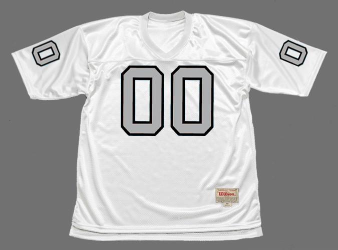 JIM OTTO Oakland Raiders 1970 Away Throwback NFL Football Jersey