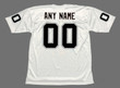OAKLAND RAIDERS 1970's Away Throwback NFL Customized Jersey - BACK