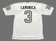 DARYLE LAMONICA Oakland Raiders 1970 Away Throwback NFL Football Jersey - BACK
