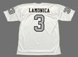 DARYLE LAMONICA Oakland Raiders 1970 Away Throwback NFL Football Jersey - BACK
