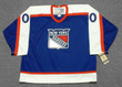 Customized 1970's Away CCM New York Rangers Retro Jersey - FRONT