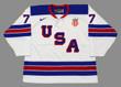 BRADY TKACHUK 2018 USA Nike Throwback Hockey Jersey - FRONT