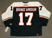 ROD BRIND'AMOUR Philadelphia Flyers 1998 CCM Throwback NHL Hockey Jersey - BACK