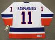 DARIUS KASPARAITIS New York Islanders 1993 Home CCM Vintage Throwback Hockey - BACK